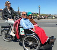 Cycling Without Age trishaw
