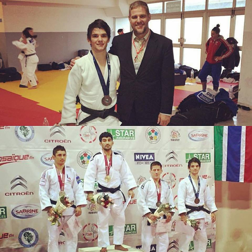 Joshua Katz Bronze Medal Tunisia