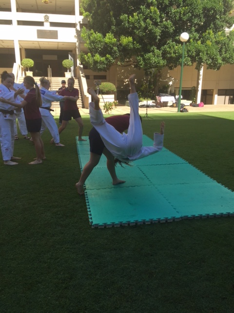 Judo Demo Parliament House of QLD
