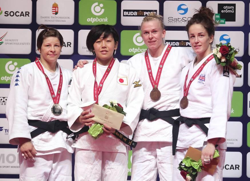 Katharina Haecker wins Bronze at Budapest GP 2016