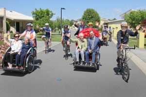 Cycling Without Age in Canberra photo