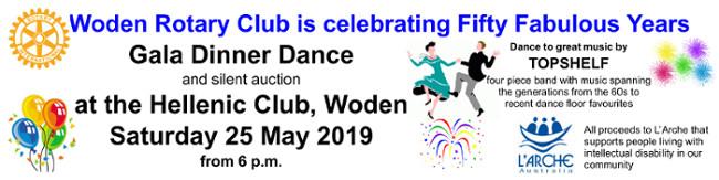 Dinner-dance banner header