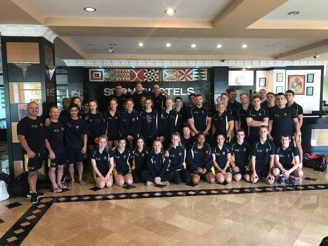 AUS Oceania team