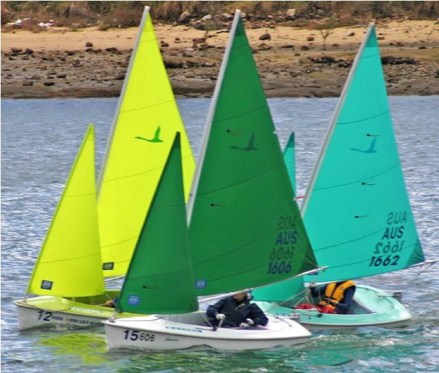 Hansa 303 Wide sailing boata