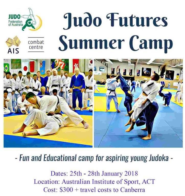 Judo Futures Summer Camp Jan 2018