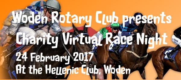 Charity Virtual Race Night header