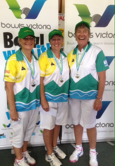 STATE LADIES TRIPLES CHAMPIONS
