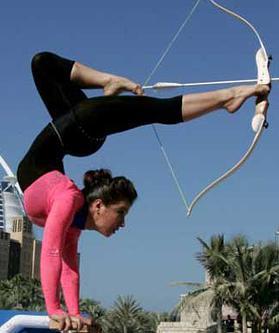Gymnast Archer